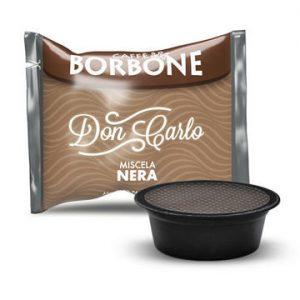 Capsule Caffè Borbone Nero Gusto Deciso Compatibili Lavazza A Modo Mio 10 pz