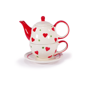 Teiera For One San Valentino con Tazza