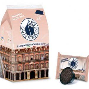 Capsule Caffe' Borbone Compatibili A Modo Mio Miscela Suprema 10 pz