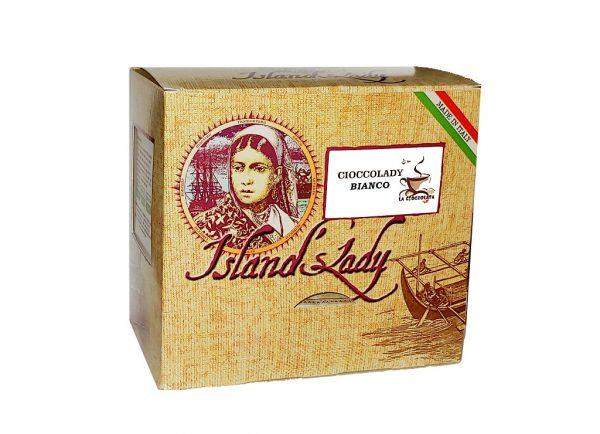 Island's Lady Linea professionale Cioccolata Calda in bustine 15 pz BIANCA