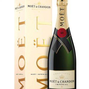 Champagne Brut Moët Impérial Moët & Chandon con Astuccio
