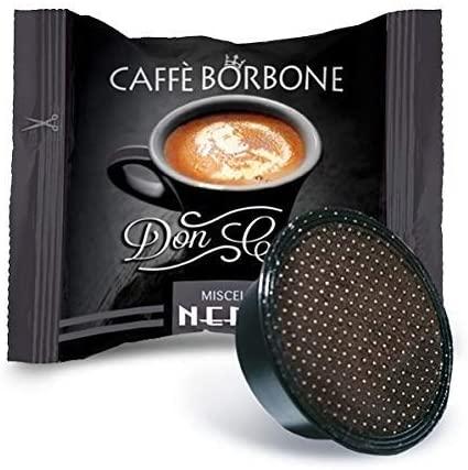 Capsule Caffè Borbone Compatibili Dolce Gusto Miscela Nera pz 15 Capsule Caffe' Borbone Compatibili A Modo Mio Miscela Nera pz 50