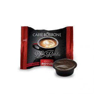 Capsule Caffe' Borbone Compatibili A Modo Mio Miscela Rossa pz 50