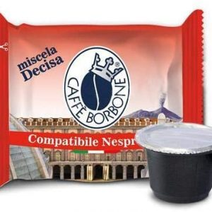 Capsule Caffè Borbone compatibili Nespresso Decisa 70 pz