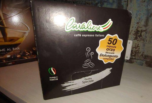 Capsule Compatibili Nescafè Dolcegusto Caffe D'Orzo Cavaliere 50 PZ