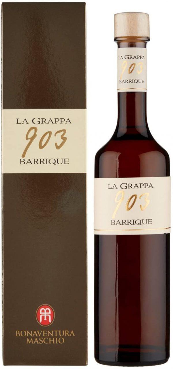 Grappa 903 Barrique 350 ml Maschio Bonaventura con Astuccio
