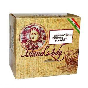 INFUSO Island's Lady Linea Professionale Box 15 Filtri Piramidali INFUSO AI FRUTTI DI BOSCO