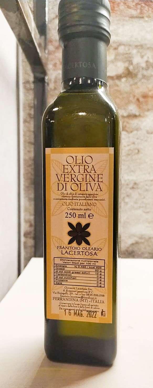 Olio Extravergine di Oliva Lacertosa 25 cl EVO