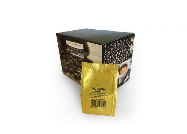 Capsule Caffè Nespresso Miscela Oro Crema Bar 10pz