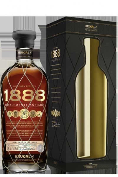 Rum Brugal 1888 Gran Reserva Familiar 70cl Con Astuccio