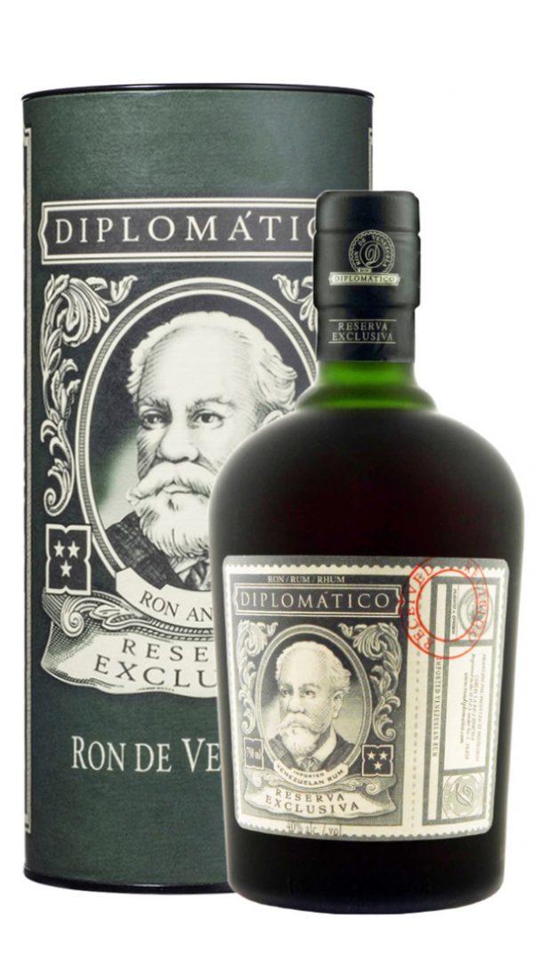 Rum Reserva Exclusiva Diplomatico 70 cl con Astuccio