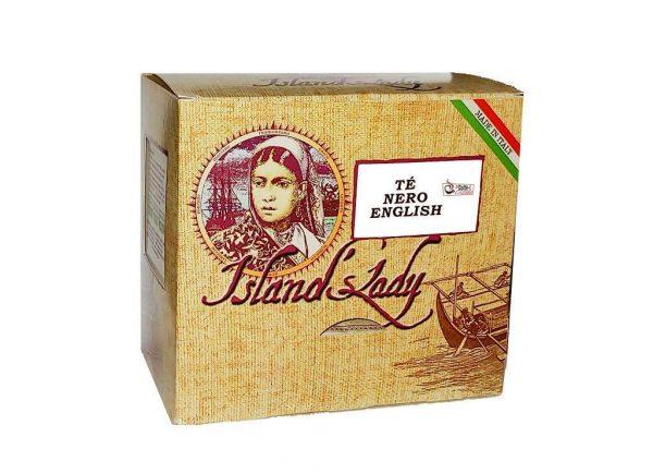Te Island's Lady Linea Professionale Box 15 Filtri Piramidali THE NERO ENGLISH