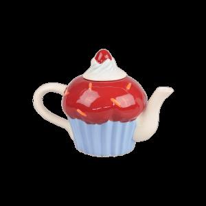 Teiera Cup Cake Rossa