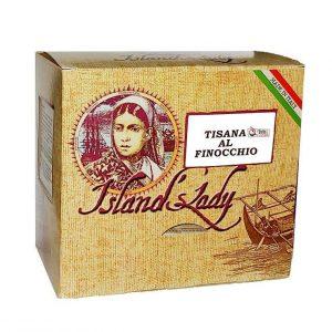 Tisana Island's Lady Linea Professionale Box 15 Filtri Piramidali TISANA AL FINOCCHIO
