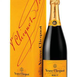 Veuve Clicquot Champagne Brut Yellow Label Etichetta Gialla con Astuccio 75 cl