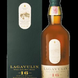 Islay Single Malt Scotch Whisky Aged 16 Years Lagavulin con Astuccio