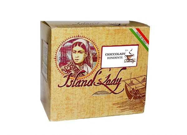 Island's Lady Linea professionale Cioccolata Calda in bustine 15 pz FONDENTE