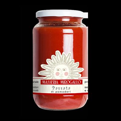 Masseria Mirogallo Passata di pomodori 540 gr
