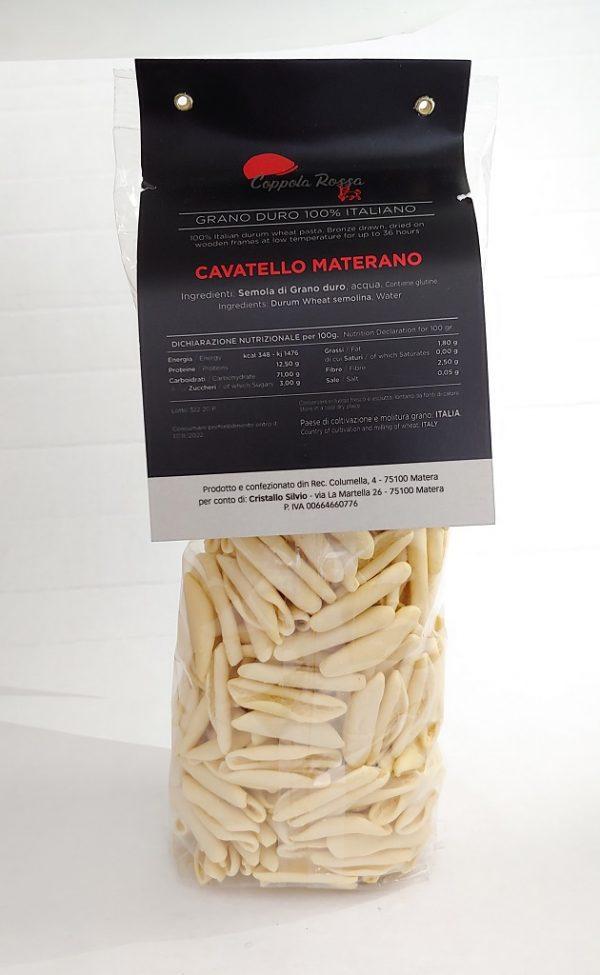 Pasta Coppola Rossa Cavatello Materano 500 gr